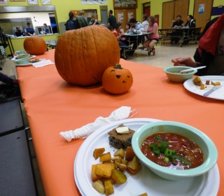 Yum! Pumpkin Fun Run meal, October 29, 2015.jpg