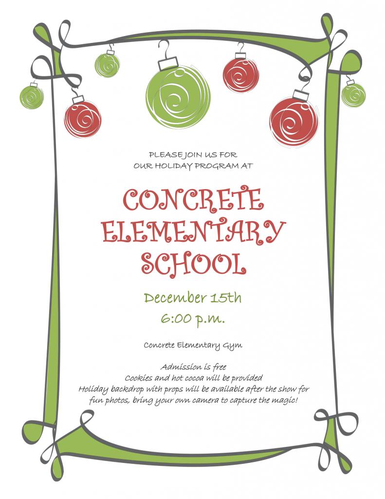 Holiday Program Flyer 2015-1