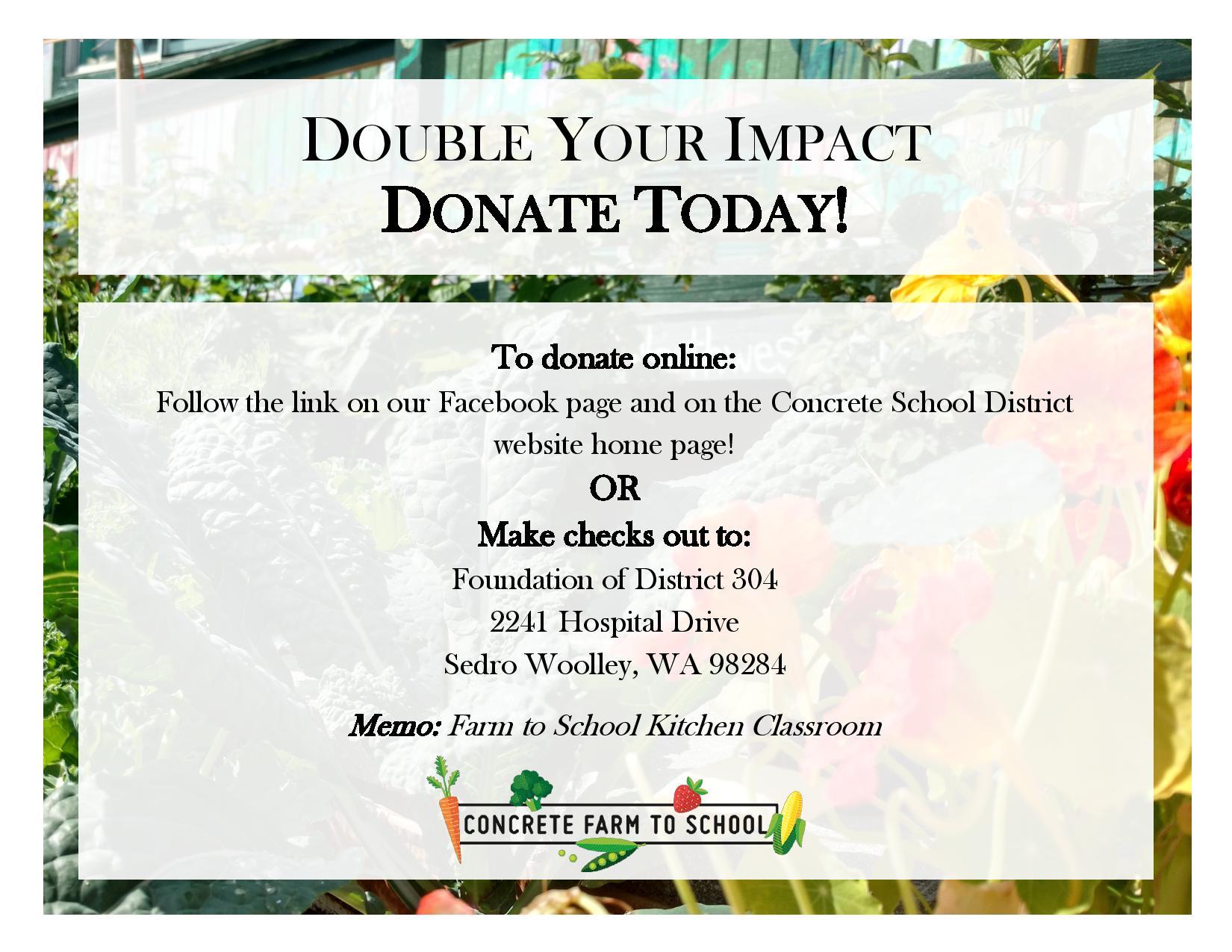 Farm to School Donation Info