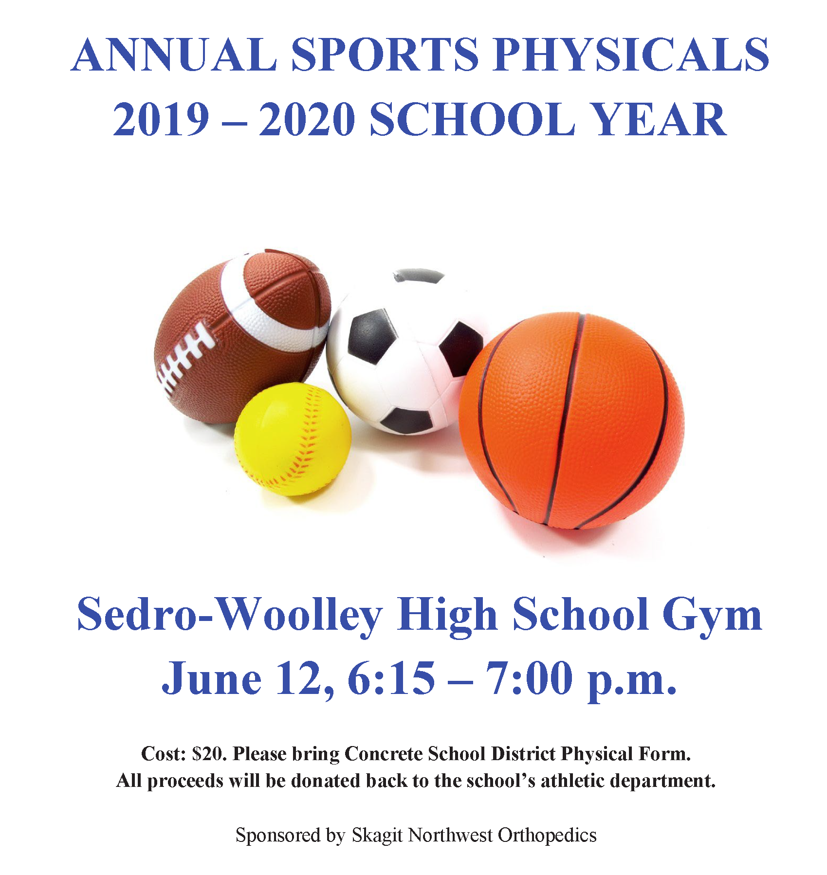 sports physical form 2019 wisconsin  Sports | Concrete School District