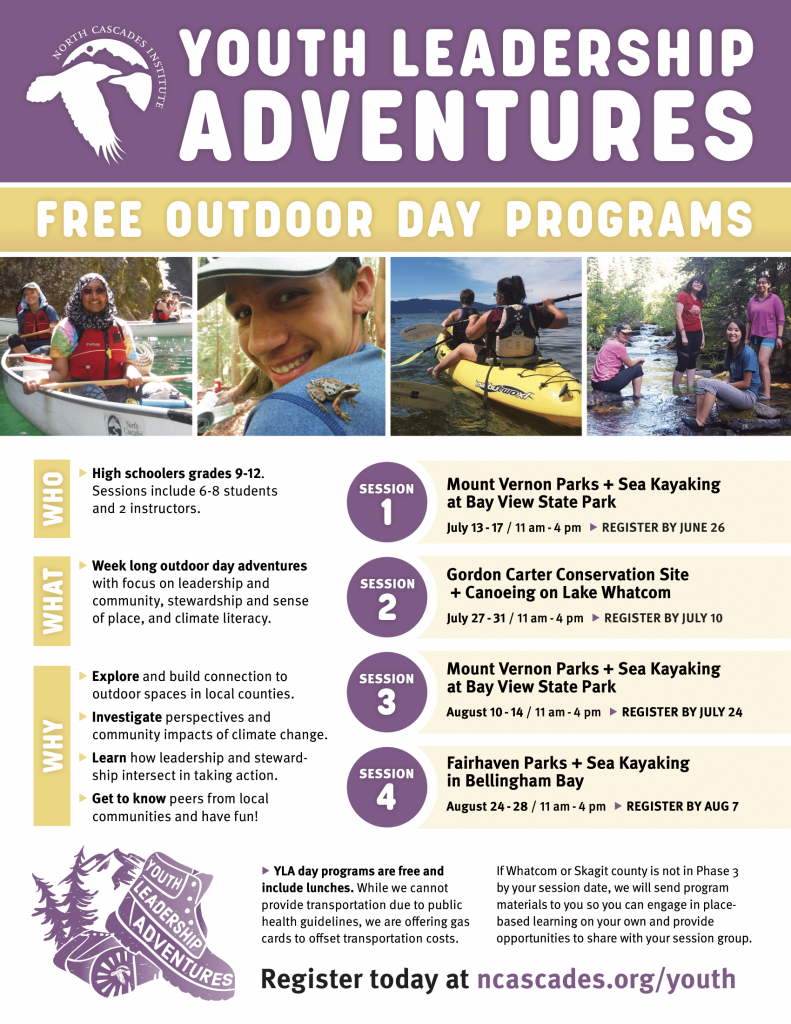 Link to Youth Leadership Adventures Flyer